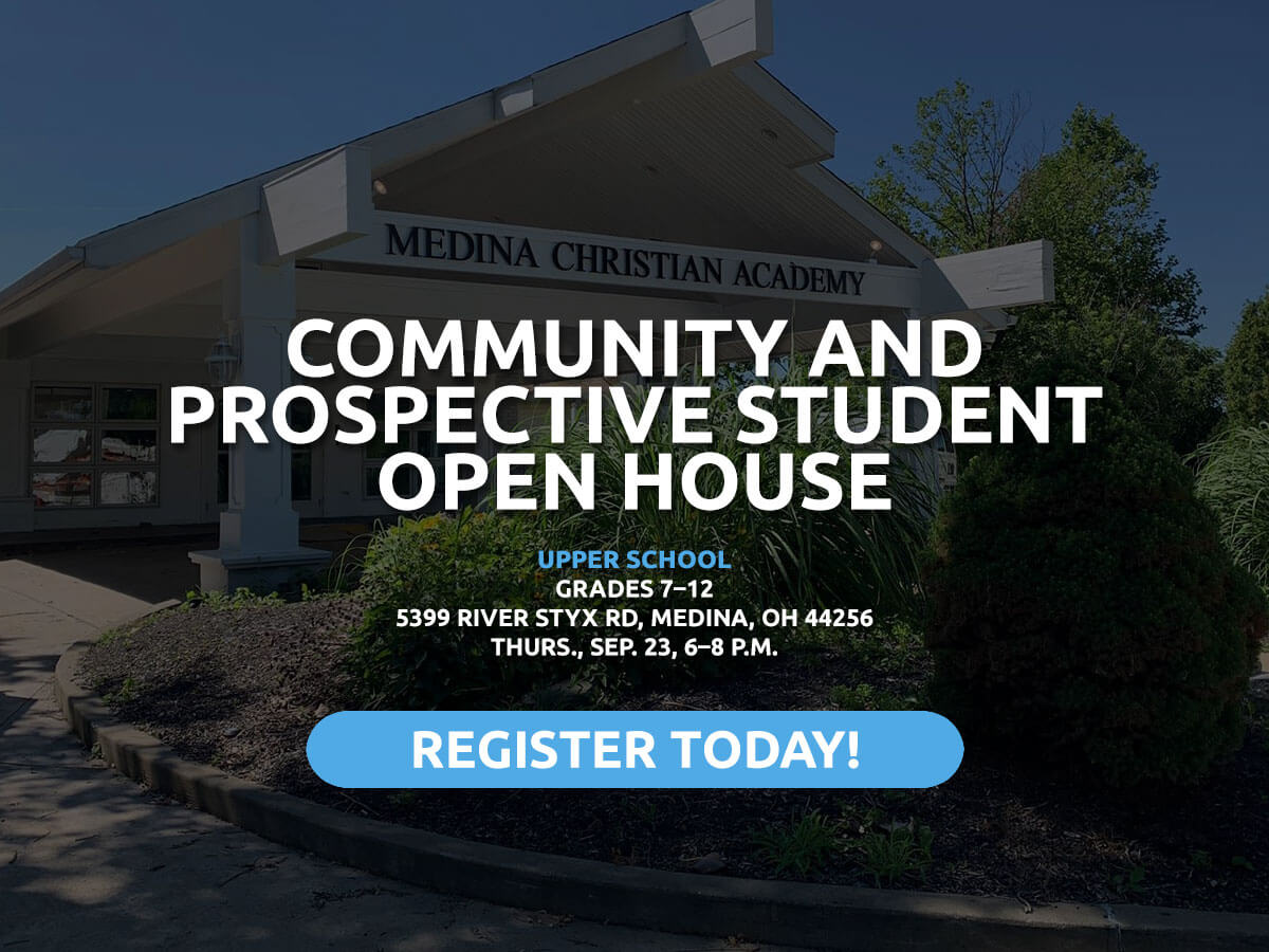 Community and Prospective Student Open House at MCA September 16 and 23